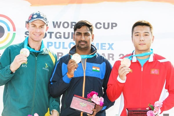 CWG 2018: Ankur Mittal Wins Bronze Medal in Double Trap Event
