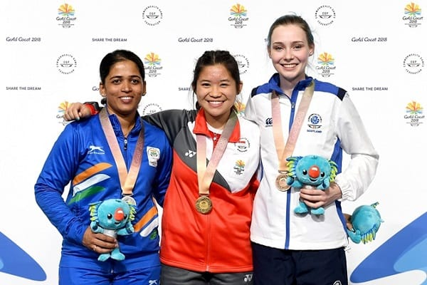 CWG 2018: Shooter Tejaswini Sawant Takes Silver Medal in 50 m Rifle Prone