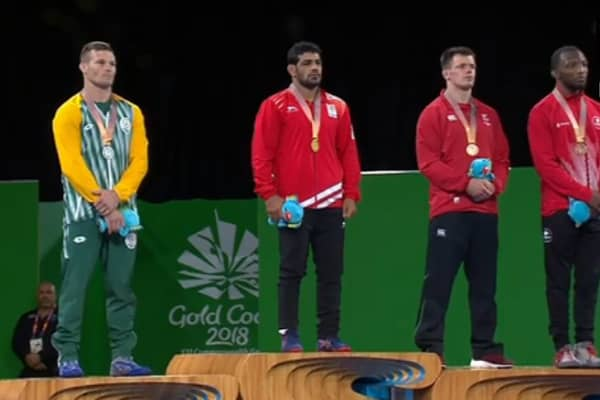 CWG 2018,Gold Coast: Sushil Kumar, Rahul Aware win gold