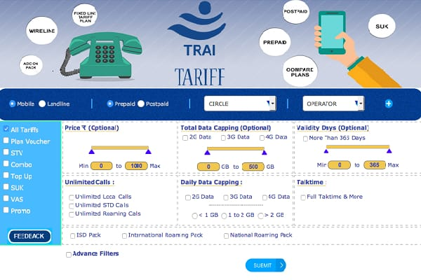 Trai website to soon display telcos tariff plans: Trai Chairman