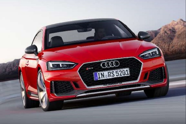 New Audi RS5 Coupe to be launched in India this month