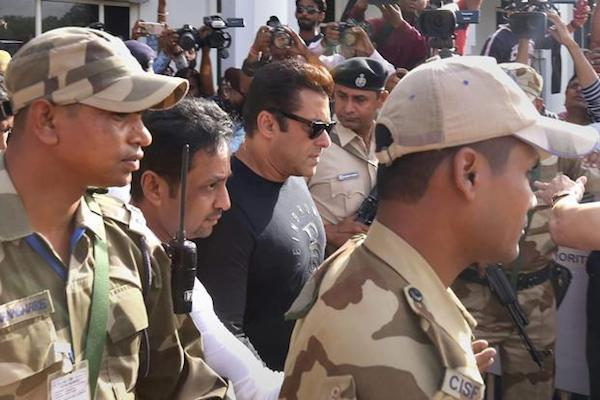 Salman Khan Sentenced To 5 Years In Jail