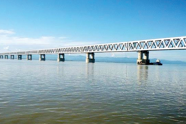 Bogibeel, India's longest rail bridge to be opened on Brahmaputra by October this year
