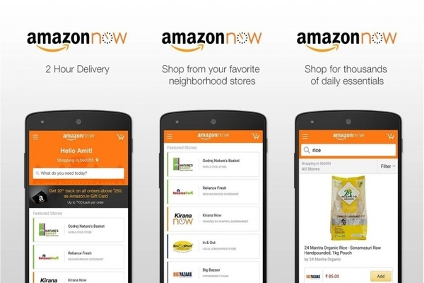 Amazon Now re-brands itself as Prime Now, promises 2-hour express delivery