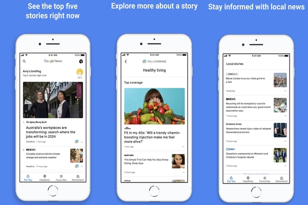 AI-powered Google News app now available for iOS users