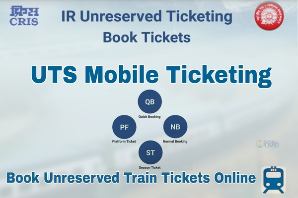 Railways Introduces Utsonmobile App To Book, Cancel Unreserved Tickets