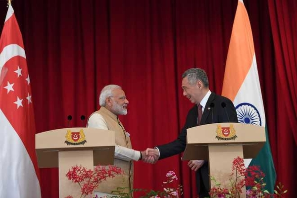 India, Singapore agree to deepen economic and defence ties