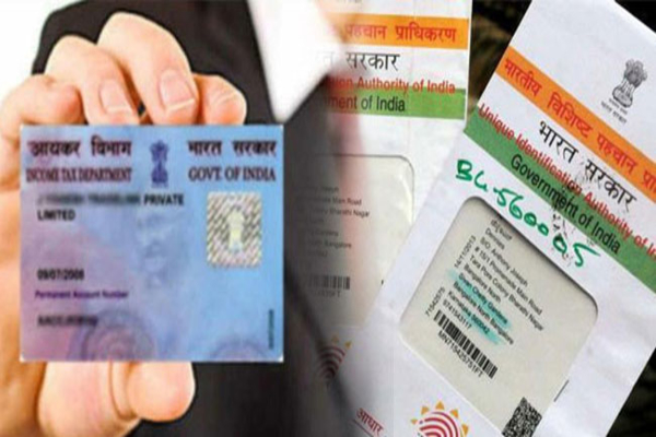 Aadhaar- PAN Allotment System Launched by Income Tax Department