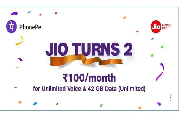 Jio New Offer: Get 42GB 4G Data & Unlimited Calls For Rs 100