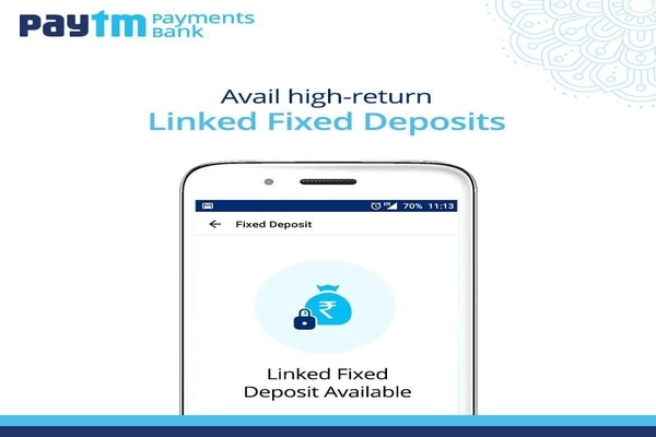 Paytm FD Offers Interest At The Rate Of 8%