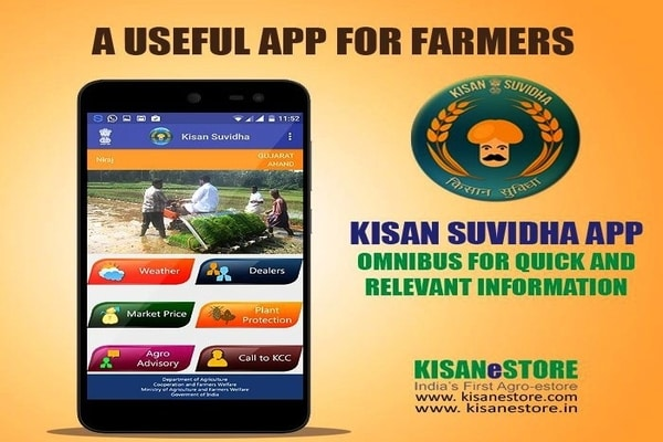 Kisan Suvidha- A Smart Mobile App for Farmers