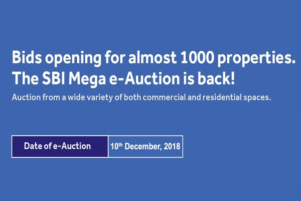 SBI mega e-auction: 1,000 residential, commercial properties for sale