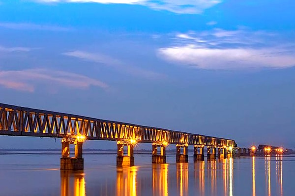 Bogibeel Bridge, India's longest rail-road bridge, opens in Assam