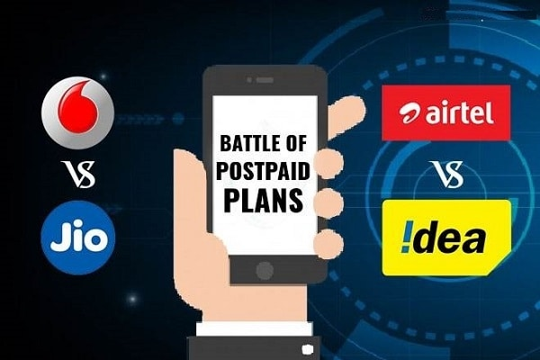 Jio, Airtel, Vodafone, Idea post-paid plans under Rs 500
