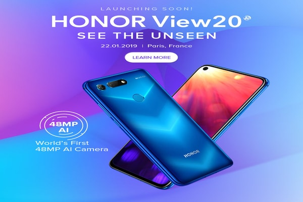 Honor View 20 India Pre-Booking Starts January 15, Offers Free Honor Sport Earphones