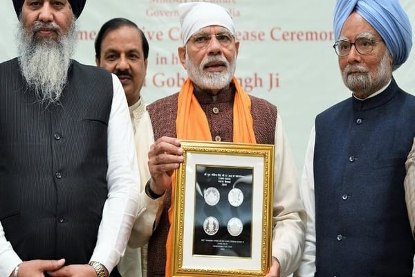 PM Introduces Commemorative Coin of Rs 350