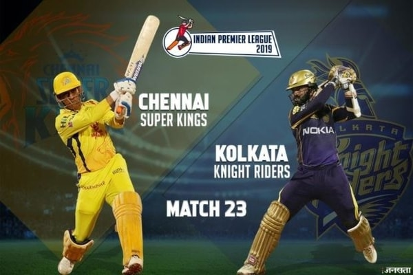 IPL 2019, Match 23 - CSK vs KKR Preview