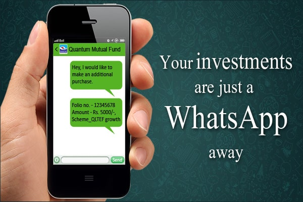 How to invest Mutual Funds SIP on Whatsapp