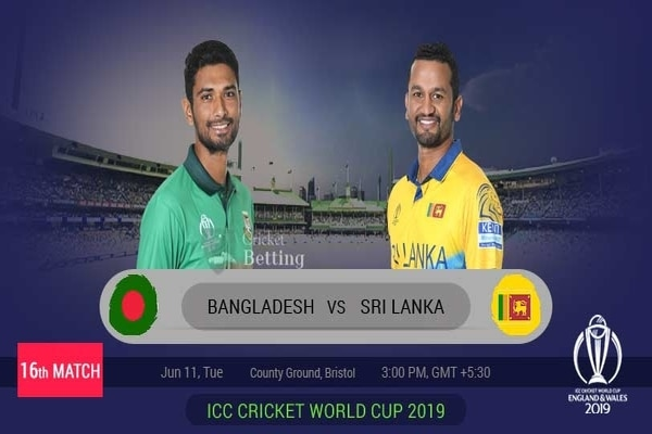 ICC World Cup 2019: Match 16, Bangladesh vs Sri Lanka, Match Prediction – Weather Report, Pitch Conditions, Playing XIs and Live Streaming Details