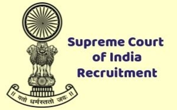 Supreme Court Recruitment 2019: Salary Details And How To Apply