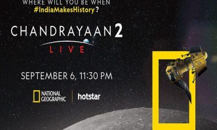 Watch Chandrayaan-2 Landing Live Telecast By Nat Geo and NASA