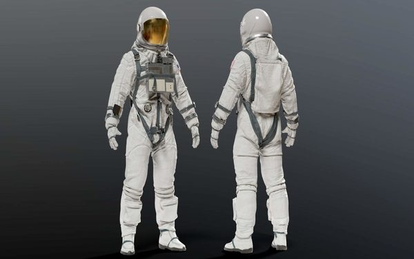 NASA Unveiled the Space Suit to be Worn by the First Woman on the Moon