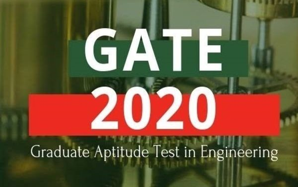 GATE 2020 Latest News and Updates