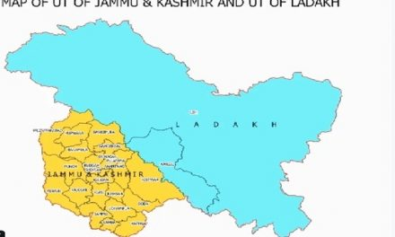 New Map Of India With New Union Territories Ladakh And J&K