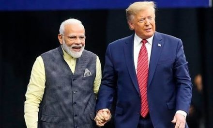 Donald Trump In India: Welcome Ceremony