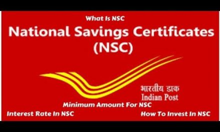 Post Office National Savings Certificate (NSC): Details