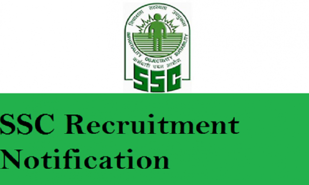 SSC Recruitment 2020: Notification,Registration, and Eligibility