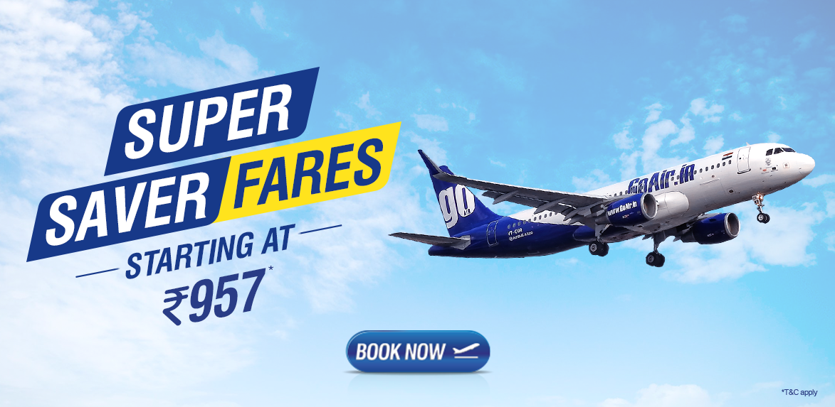 GO AIR SUPER SAVER OFFER
