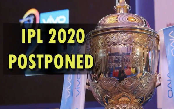 IPL 2020 postponed till April 15: Coronavirus concerns