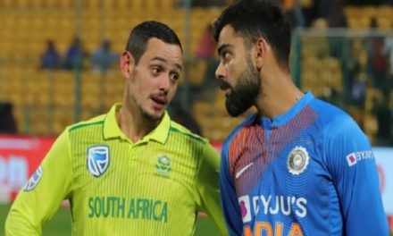 India vs South Africa ODI series called off due to coronavirus threat