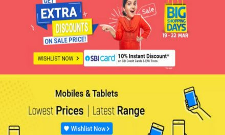 Flipkart Big Shopping Days 2020 Sale Kicks Off From March 19