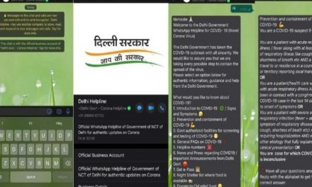 Delhi government launches WhatsApp helpline number to provide credible information on Covid-19