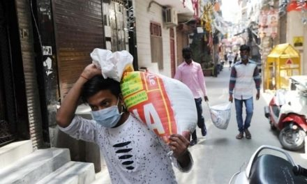 Fine, jail term for not wearing mask when outside home in Delhi
