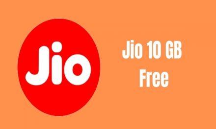 How to obtain 10 GB free Jio Reliance Mobile internet Data?