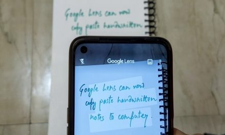 Google Lens now lets you copy, paste handwritten notes on your PC