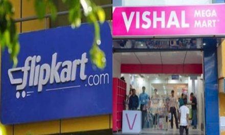 Flipkart partners Vishal Mega Mart for home delivery of essentials