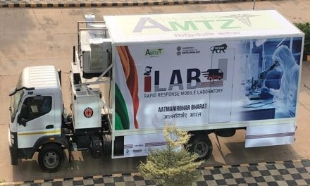 Health Ministry launches India's first mobile Lab for COVID-19 testing