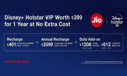 Jio Disney+ Hotstar offer: get a free subscription on Jio prepaid number