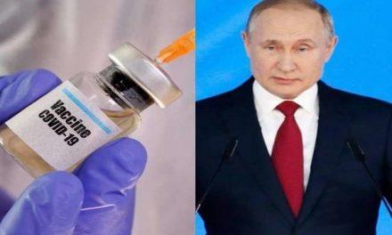 Russian President Vladimir Putin announces world's first COVID-19 vaccine