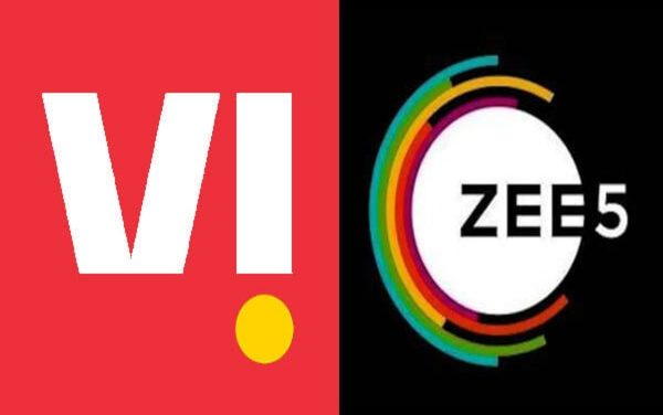 FREE Zee5 Subscription for 12 months with Vi Prepaid Plans