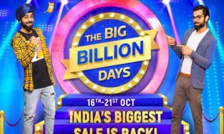 Flipkart Big Billion Days sale to begin on October 16: Deals on mobile phones, TVs, speakers listed