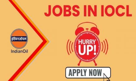 IOCL Recruitment 2020: Application window closing soon for 482 vacancies