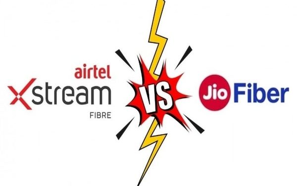A comparison between Airtel Xstream vs JioFiber broadband several plans, know which is better.