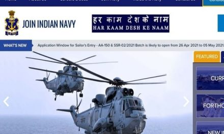 Indian Navy SSR AA Recruitment 2021: Apply for 2500 posts.