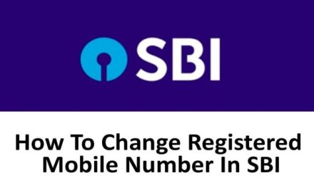 Customers can change their registered mobile number sitting at home