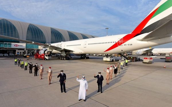 Air India express operates first flight service to Dubai with fully vaccinated staff